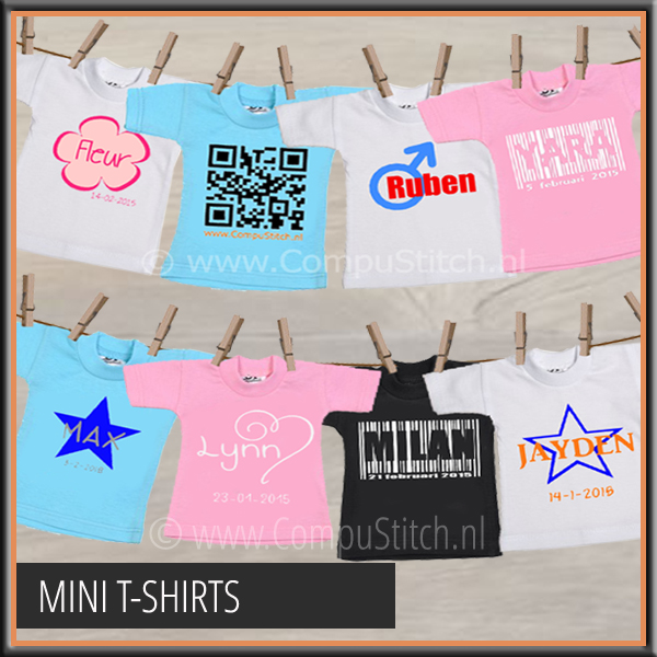 MINI T-SHIRTJES